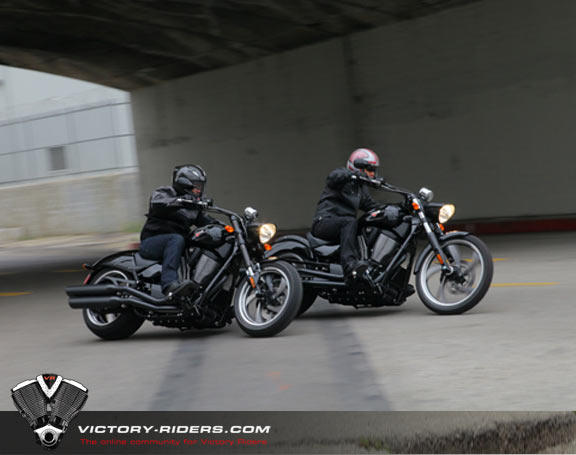 2013 Victory 8-Ball bikes.