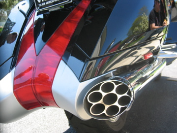 Victory Vision taillights